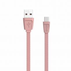 kabel usb vidvie cb408 micro roz 3